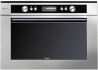 WHIRLPOOL AMW 698/IXL Beépíthető sütő és mikrohullámú sütő egyben inox