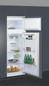 WHIRLPOOL ART 380/A+ Beépíthető felülfagyasztós kombinált hűtő