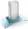 FALMEC ASTRA GLASS ISOLA 900/800 Sziget páraelszívó inox