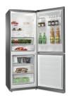 WHIRLPOOL B TNF 5012 OX Alulfagyasztós kombinált hűtő inox