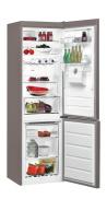 WHIRLPOOL BSNF 8451 OX AQUA Alulfagyasztós kombinált hűtő inox