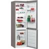 WHIRLPOOL BSNF 8452 OX Alulfagyasztós kombinált hűtő inox