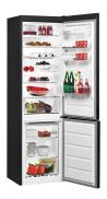 WHIRLPOOL BSNF 9432 K Alulfagyasztós kombinált hűtő fekete