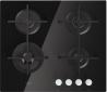 WHIRLPOOL GOA 6423/NB Beépíthető üveg-gázfőzőlap fekete üveg