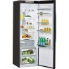 WHIRLPOOL SW8 AM2C KAR Hűtőszekrény fagyasztó nélkül fekete